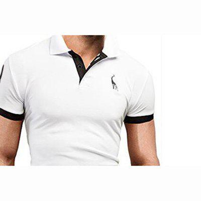 Mens Daily Plus Size Casual Summer Solid Shirt Collar Short Sleeves Cotton Medium PoloMens T-shirts<br>Mens Daily Plus Size Casual Summer Solid Shirt Collar Short Sleeves Cotton Medium Polo<br><br>Collar: Turn-down Collar<br>Color Style: Solid<br>Fabric Type: Woolen<br>Material: Cotton<br>Package Contents: 1 X Polo Shirt<br>Pattern Type: Animal<br>Sleeve Length: Short<br>Style: Casual<br>Type: Regular<br>Weight: 0.1800kg