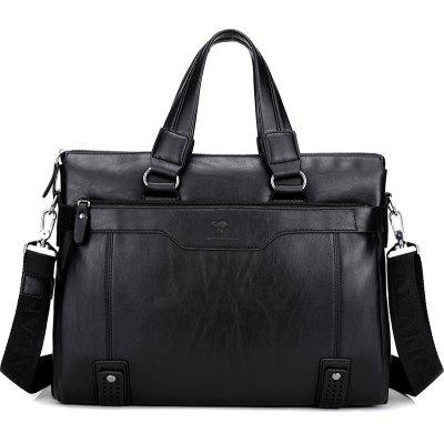 Mens business bag large capacity shoulder Messenger bagHandbags<br>Mens business bag large capacity shoulder Messenger bag<br><br>Closure Type: Zipper<br>Embellishment: Hollow Out<br>Exterior: Solid Bag<br>Gender: For Men<br>Handbag Type: Shoulder bag<br>Lining Material: Polyester<br>Main Material: PU<br>Number of Handles / Straps: Single<br>Package Contents: 1xhandbag<br>Package size (L x W x H): 40.00 x 10.00 x 30.00 cm / 15.75 x 3.94 x 11.81 inches<br>Package weight: 1.2000 kg<br>Pattern Type: Solid<br>Product size (L x W x H): 38.00 x 9.00 x 28.00 cm / 14.96 x 3.54 x 11.02 inches<br>Product weight: 1.0000 kg<br>Shape: Hobos,Casual Tote,Satchels<br>Style: Casual