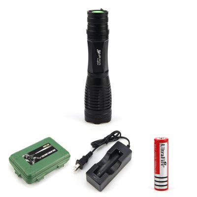 UltraFire E6 600LM Focusing Flashlight coupons