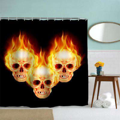 The Skeleton of Flame Polyester Shower Curtain Bathroom Curtain High Definition 3D Printing Water-ProofShower Curtain<br>The Skeleton of Flame Polyester Shower Curtain Bathroom Curtain High Definition 3D Printing Water-Proof<br><br>Package size (L x W x H): 26.00 x 18.00 x 3.00 cm / 10.24 x 7.09 x 1.18 inches<br>Package weight: 0.4500 kg
