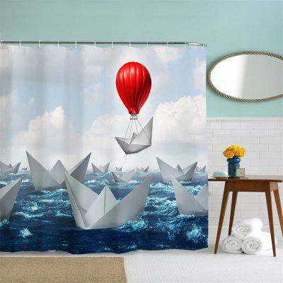 Origami Boat Polyester Shower Curtain Bathroom Curtain High Definition 3D Printing Water-ProofShower Curtain<br>Origami Boat Polyester Shower Curtain Bathroom Curtain High Definition 3D Printing Water-Proof<br><br>Package size (L x W x H): 26.00 x 18.00 x 3.00 cm / 10.24 x 7.09 x 1.18 inches<br>Package weight: 0.4000 kg