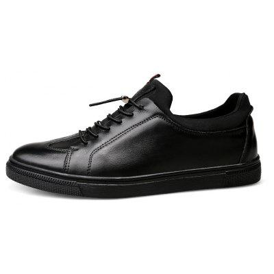 Four Seasons Men S First Layer of Leather Casual ShoesMen's Oxford<br>Four Seasons Men S First Layer of Leather Casual Shoes<br><br>Available Size: 36 37 38 39 40 41 42 43 44 45 46 47<br>Closure Type: Lace-Up<br>Embellishment: Fur<br>Gender: For Men<br>Occasion: Casual<br>Outsole Material: Rubber<br>Package Contents: 1xshoes(pair)<br>Pattern Type: Solid<br>Season: Summer, Winter, Spring/Fall<br>Toe Shape: Round Toe<br>Toe Style: Closed Toe<br>Upper Material: Full Grain Leather<br>Weight: 1.6896kg