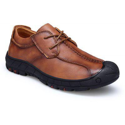 Season of Leather Rubber Men Leisure Shoes