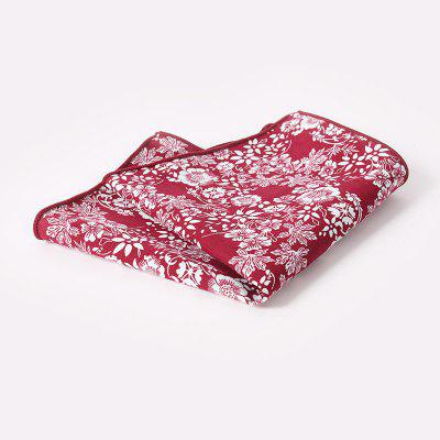 Men'S Printed Handkerchief Floral Pocket Towel