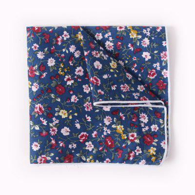 Suit Pocket Napkin Printing Man'S Cotton Handkerchief