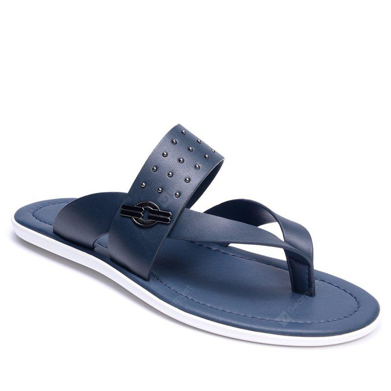 Hot Selling Low Price Popular Style Summer Men Cow Leather Sandal