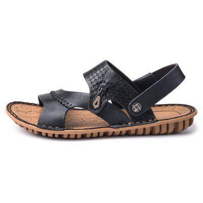 Hot Sale Flat Sandals MenS Summer Beach Shoes Disposable SlippersMens Sandals<br>Hot Sale Flat Sandals MenS Summer Beach Shoes Disposable Slippers<br><br>Available Size: 38 39 40 41 42 43<br>Closure Type: Hook &amp; Loop<br>Flat Type: Ballet Flats<br>Gender: For Men<br>Occasion: Casual<br>Package Contents: 1xShoes(pair)<br>Package size (L x W x H): 34.00 x 22.00 x 13.00 cm / 13.39 x 8.66 x 5.12 inches<br>Package weight: 0.6000 kg<br>Pattern Type: Solid<br>Season: Summer<br>Toe Shape: Others<br>Toe Style: Open Toe<br>Upper Material: Genuine Leather