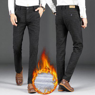 MenS Fleece Lined Casual Skinny Fit PantsMens Pants<br>MenS Fleece Lined Casual Skinny Fit Pants<br><br>Closure Type: Zipper Fly<br>Elasticity: Micro-elastic<br>Fabric Type: Broadcloth<br>Fit Type: Straight<br>Length: Normal<br>Material: Cotton, Polyester<br>Package Contents: 1 x Pants<br>Package size (L x W x H): 1.00 x 1.00 x 1.00 cm / 0.39 x 0.39 x 0.39 inches<br>Package weight: 0.5000 kg<br>Pant Style: Straight<br>Pattern Type: Solid<br>Style: Casual<br>Thickness: Thick<br>Waist Type: Mid