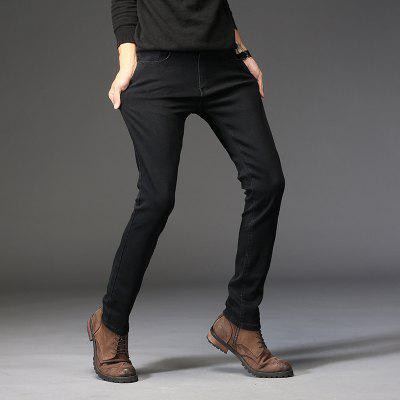 Daifansen Mens Winter Thickening  Black Body  Small Feet and Velvet JeansMens Pants<br>Daifansen Mens Winter Thickening  Black Body  Small Feet and Velvet Jeans<br><br>Closure Type: Zipper Fly<br>Fit Type: Regular<br>Material: Cotton<br>Package Contents: 1 xpant<br>Pant Length: Long Pants<br>Pant Style: Straight<br>Waist Type: Mid<br>Wash: Light<br>Weight: 0.4000kg