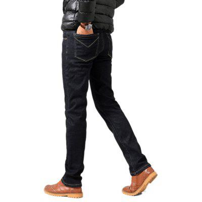 Daifansen Thick Cashmere Jeans in WinterMens Pants<br>Daifansen Thick Cashmere Jeans in Winter<br><br>Closure Type: Zipper Fly<br>Fit Type: Loose<br>Material: Cotton, Jeans<br>Package Contents: 1 xpant<br>Pant Length: Long Pants<br>Pant Style: Straight<br>Waist Type: Mid<br>Wash: Light<br>Weight: 0.4000kg
