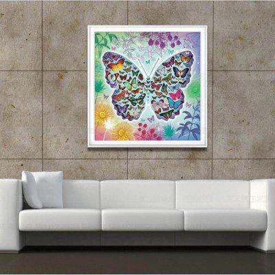 Zglgbycg 6131 Diamond Drawing Living Room Butterfly Stick Drill Embroidery 30 x 30CMPainting<br>Zglgbycg 6131 Diamond Drawing Living Room Butterfly Stick Drill Embroidery 30 x 30CM<br><br>Craft: Print<br>Form: One Panel<br>Material: Canvas, Resin<br>Package Contents: 1 x  Diamond Painting<br>Package size (L x W x H): 30.00 x 10.00 x 2.00 cm / 11.81 x 3.94 x 0.79 inches<br>Package weight: 0.0820 kg<br>Painting: Without Inner Frame<br>Product size (L x W x H): 30.00 x 30.00 x 0.10 cm / 11.81 x 11.81 x 0.04 inches<br>Product weight: 0.0800 kg<br>Shape: Square<br>Style: Europe, Office/Business, Lovely<br>Subjects: Animal<br>Suitable Space: Office,Cafes,Kids Room