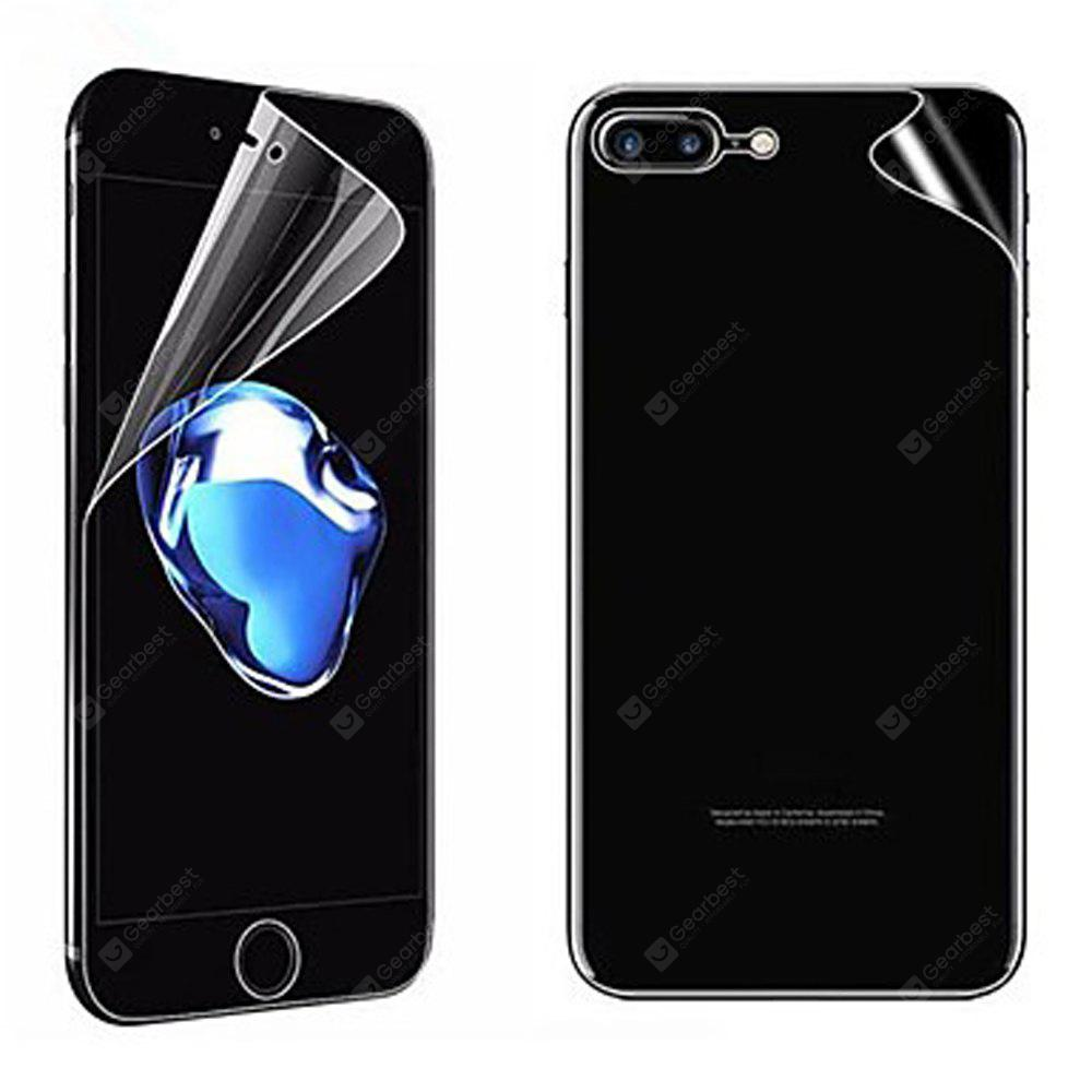 2PCS PET Displayschutzfolie für iPhone 8 Plus Schutzfolie High Definition (HD) Scratch Proof