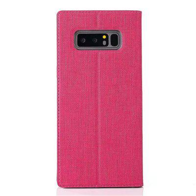 For Korean Style Smart Protection Leather Cover Is Suitable for The Samsung Galaxy Note 8For Korean Style Smart Protection Leather Cover Is Suitable for The Samsung Galaxy Note 8<br><br>Characteristic: Intelligent sleep<br>Color: Rose Madder<br>Compatible for Samsung: Samsung Galaxy Note 8, Samsung note 8<br>Compatible with: SAMSUNG, Note 8.0<br>Features: Dirt-resistant, Anti-knock, Waterproof Case, With Credit Card Holder, Button Protector, Cases with Stand, Bumper Frame, Full Body Cases, Auto Sleep/Wake Up<br>For: Samsung Mobile Phone<br>Functions: Camera Hole Location, Against water/dust/dirt/sand<br>Material: Carbon Fiber, Cowhide, Diving fabrics, TPU, Textile, Fiber<br>Package Contents: 1 x Phone Case<br>Package size (L x W x H): 2.00 x 2.00 x 3.00 cm / 0.79 x 0.79 x 1.18 inches<br>Package weight: 0.0200 kg<br>Style: Sweet, Novelty, Fashion, Vintage, Stripe, Leather, Stripe Pattern, Solid Color, Funny