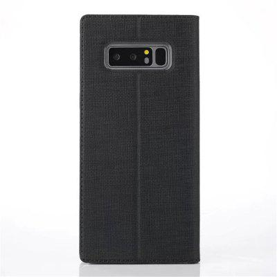 For High-End Business Protection Leather Cover Is Suitable for Samsung Galaxy Note 8 Smart Wake-Up Leather CaseFor High-End Business Protection Leather Cover Is Suitable for Samsung Galaxy Note 8 Smart Wake-Up Leather Case<br><br>Characteristic: wake-up leather case<br>Color: Black<br>Compatible for Samsung: Samsung note 8, Samsung Galaxy Note 8<br>Features: Button Protector, Dirt-resistant, Anti-knock, Waterproof Case, With Credit Card Holder, Cases with Stand, Bumper Frame, Full Body Cases, Auto Sleep/Wake Up<br>For: Samsung Mobile Phone<br>Functions: Camera Hole Location, Against water/dust/dirt/sand<br>Material: Carbon Fiber, Cowhide, Fiber, Nylon, TPU, Textile<br>Package Contents: 1 x Phone Case<br>Package size (L x W x H): 2.00 x 2.00 x 3.00 cm / 0.79 x 0.79 x 1.18 inches<br>Package weight: 0.0200 kg<br>Style: Solid Color, Novelty, Fashion, Vintage, Ultra-thin, Leather, Funny, Cool