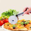 Stainless Steel Pizza Cutter Pizza Cutter Cutlery Knife - SILVER