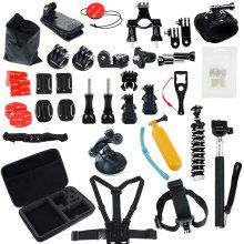 Accessories Kit for GoPro Hero 6/5 Session 4 Silver 3 Black SJ4000/SJ5000/SJ6 LEGEND/SJ7 Action Camera Accessories
