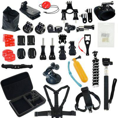 Accessories Kit for GoPro Hero 6/5 Session 4 Silver 3 Black SJ4000 ...