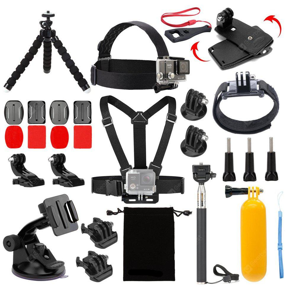 Accessories Kit for AKASO EK5000 EK7000 4K WIFI Action Camera Gopro Hero 6 5/Session 5/Hero 4/3+/3/2/1 (14 Items)