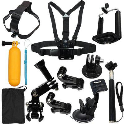 Camera Accessories Kit Starter Bundle for GoPro Hero Session 5 /4/3/2/1/SJ4000/SJ5000 HD Action Video Cameras by LotFancy