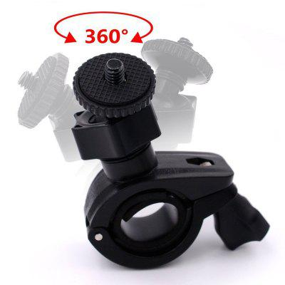 Action Camera Bike Mount Holder 360 Degree Rotatable Motorcycle Bicycle Handlebar Clamp Mount Bracket for Gopro Hero 6/5Action Cameras &amp; Sport DV Accessories<br>Action Camera Bike Mount Holder 360 Degree Rotatable Motorcycle Bicycle Handlebar Clamp Mount Bracket for Gopro Hero 6/5<br><br>Accessory type: Bracket<br>Apply to Brand: Gopro,SJCAM<br>Compatible with: SJCAM 4000 plus, SJCAM M10, SJCAM M10 Plus, SJ4000 Plus, SJ4000 WiFi, SJCAM M20, Xiaomi Yi II, SJ5000 WiFi, SJ5000X, YI II, All models, SJCAM 5000 plus, SJ7000, GoPro Hero 4 Session, YI, Gopro Hero 4, Gopro Hero 3 Plus, Gopro Hero 3, Gopro Hero 2, Gopro Hero 1, GoPro Hero Series, SJ4000, SJ5000, SJ6000, Action Camera, Xiaomi Yi<br>Extened Length(cm): 8<br>Folded Length(cm): 5<br>Length Range(cm): 8<br>Material: ABS, Aluminum, Plastic<br>Package Contents: 1 x Bike Camera Mount Holder,1 x Action Camera Adapter,1 x Screw<br>Package size (L x W x H): 10.00 x 5.00 x 2.00 cm / 3.94 x 1.97 x 0.79 inches<br>Package weight: 0.2000 kg<br>Product size (L x W x H): 9.00 x 4.00 x 1.00 cm / 3.54 x 1.57 x 0.39 inches<br>Product weight: 0.1000 kg<br>Waterproof: Yes