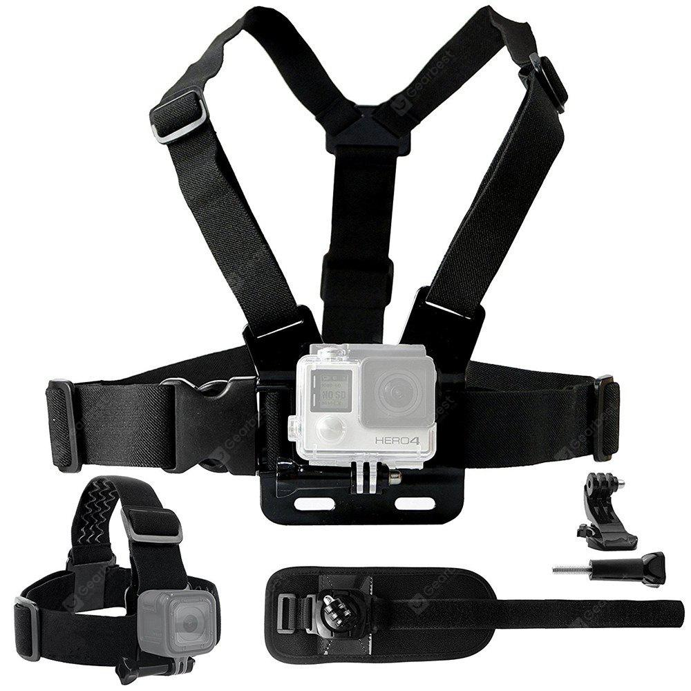 Body Mount Bundle for Gopro Hero 6/5 Black Session 4 Session Black Silver for Hero+ LCD 6/5/4/3+/3/2/1