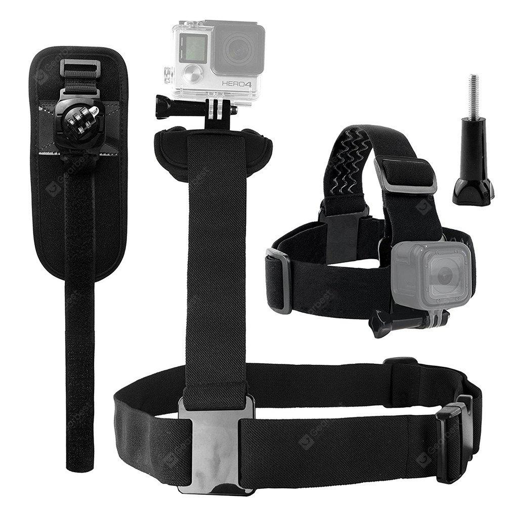 Body Mount Bundle for Gopro Hero 6/5 Black Session Black Silver for Hero+ LCD3+/3/2/1