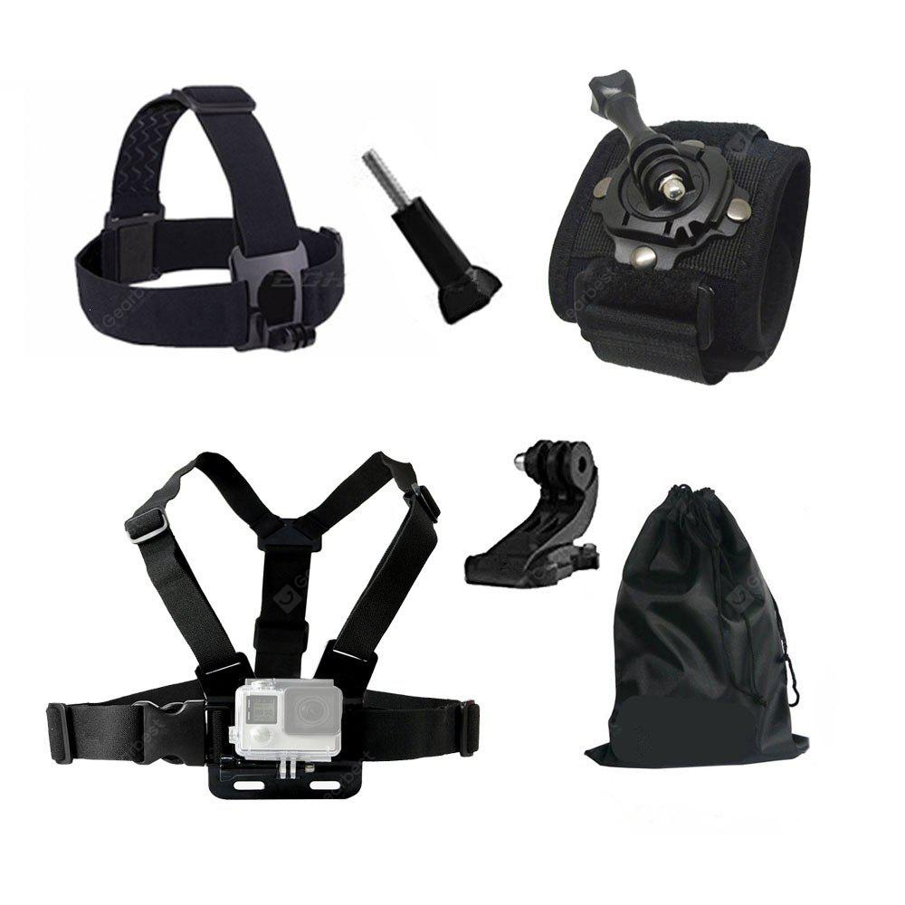 Accessories Chest Head J Mount Belt Strap for GoPro hero 4/5/6/SJCAM/SJ4000/SJ5000/SJ5000X for GoPro Action Camera