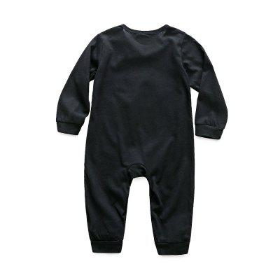 Kimocat Newborn Baby Spring Long-sleeved Letter X Baby Jumpsuitbaby rompers<br>Kimocat Newborn Baby Spring Long-sleeved Letter X Baby Jumpsuit<br><br>Closure Type: Covered Button<br>Collar: Round Neck<br>Color: Black<br>Fabric Type: Jersey<br>Gender: Boy<br>Material: Cotton<br>Package Contents: 1 x Jumpsuit<br>Pattern Style: Letter<br>Season: Spring<br>Sleeve Length: Full<br>Sleeve Style: Regular<br>Style: Han Edition<br>Thickness: Thin<br>Weight: 0.1092kg