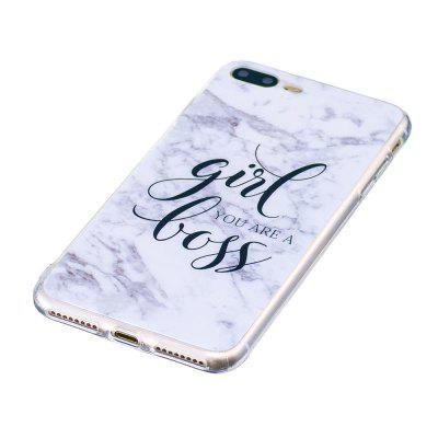 Girl Characters Ultra Thin Marble Stone Patterned Soft TPU Phone Case for iPhone 8 PlusiPhone Cases/Covers<br>Girl Characters Ultra Thin Marble Stone Patterned Soft TPU Phone Case for iPhone 8 Plus<br><br>Color: Assorted Colors<br>Compatible for Apple: iPhone 8 Plus<br>Features: Back Cover<br>Material: TPU<br>Package Contents: 1 x Phone Case<br>Package size (L x W x H): 12.00 x 11.00 x 1.50 cm / 4.72 x 4.33 x 0.59 inches<br>Package weight: 0.0500 kg<br>Product size (L x W x H): 11.00 x 10.00 x 1.00 cm / 4.33 x 3.94 x 0.39 inches<br>Product weight: 0.0300 kg<br>Style: Novelty, Pattern