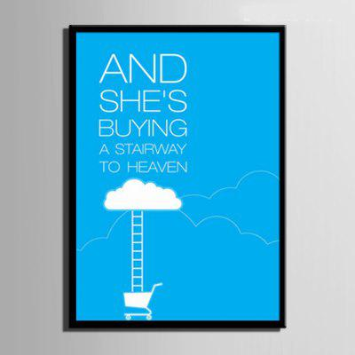Special Design Frame Paintings A Stairway To Heaven PrintPrints<br>Special Design Frame Paintings A Stairway To Heaven Print<br><br>Craft: Print<br>Form: One Panel<br>Material: Canvas<br>Package Contents: 1 x Print<br>Package size (L x W x H): 42.00 x 31.00 x 2.00 cm / 16.54 x 12.2 x 0.79 inches<br>Package weight: 0.5000 kg<br>Painting: Include Inner Frame<br>Product size (L x W x H): 40.00 x 28.00 x 1.50 cm / 15.75 x 11.02 x 0.59 inches<br>Product weight: 0.4000 kg<br>Shape: Vertical<br>Style: Vintage, Fashion, Active, Formal, Casual, Novelty<br>Subjects: Fashion<br>Suitable Space: Indoor,Outdoor,Cafes,Kids Room,Kids Room,Study Room / Office