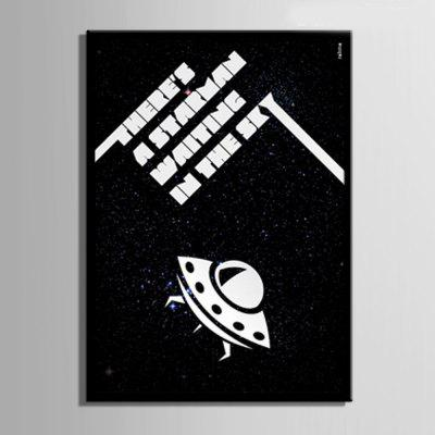 Special Design Frameless Paintings The Spacecraft PrintPainting<br>Special Design Frameless Paintings The Spacecraft Print<br><br>Craft: Print<br>Form: One Panel<br>Material: Canvas<br>Package Contents: 1 x Print<br>Package size (L x W x H): 26.00 x 37.00 x 2.00 cm / 10.24 x 14.57 x 0.79 inches<br>Package weight: 0.5000 kg<br>Painting: Include Inner Frame<br>Product size (L x W x H): 24.00 x 34.00 x 1.50 cm / 9.45 x 13.39 x 0.59 inches<br>Product weight: 0.4000 kg<br>Shape: Vertical<br>Style: Vintage, Fashion, Active, Formal, Casual, Novelty<br>Subjects: Fashion<br>Suitable Space: Indoor,Outdoor,Cafes,Kids Room,Kids Room,Study Room / Office