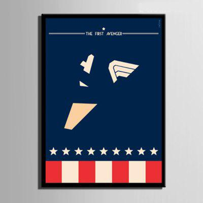 Special Design Frame Paintings The First Avenger PrintPainting<br>Special Design Frame Paintings The First Avenger Print<br><br>Craft: Print<br>Form: One Panel<br>Material: Canvas<br>Package Contents: 1 x Print<br>Package size (L x W x H): 52.00 x 38.00 x 2.00 cm / 20.47 x 14.96 x 0.79 inches<br>Package weight: 0.6000 kg<br>Painting: Include Inner Frame<br>Product size (L x W x H): 50.00 x 35.00 x 1.50 cm / 19.69 x 13.78 x 0.59 inches<br>Product weight: 0.5000 kg<br>Shape: Vertical<br>Style: Vintage, Fashion, Active, Formal, Casual, Novelty<br>Subjects: Fashion<br>Suitable Space: Indoor,Outdoor,Cafes,Kids Room,Kids Room,Study Room / Office