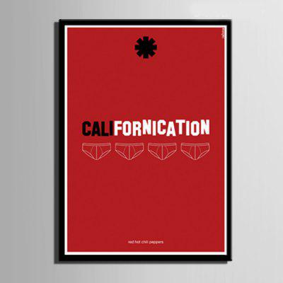 Special Design Frame Paintings Californication PrintPainting<br>Special Design Frame Paintings Californication Print<br><br>Craft: Print<br>Form: One Panel<br>Material: Canvas<br>Package Contents: 1 x Print<br>Package size (L x W x H): 42.00 x 31.00 x 2.00 cm / 16.54 x 12.2 x 0.79 inches<br>Package weight: 0.5000 kg<br>Painting: Include Inner Frame<br>Product size (L x W x H): 40.00 x 28.00 x 1.50 cm / 15.75 x 11.02 x 0.59 inches<br>Product weight: 0.4000 kg<br>Shape: Vertical<br>Style: Vintage, Fashion, Active, Formal, Casual, Novelty<br>Subjects: Fashion<br>Suitable Space: Indoor,Outdoor,Cafes,Kids Room,Kids Room,Study Room / Office