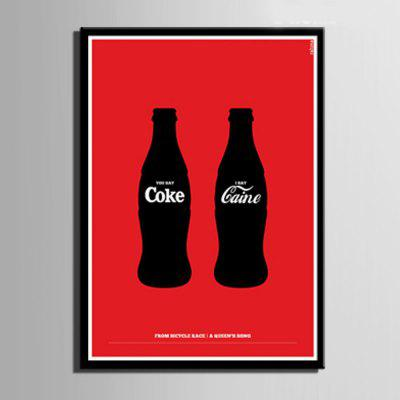 Special Design Frame Paintings Cokes PrintPainting<br>Special Design Frame Paintings Cokes Print<br><br>Craft: Print<br>Form: One Panel<br>Material: Canvas<br>Package Contents: 1 x Print<br>Package size (L x W x H): 52.00 x 73.00 x 2.00 cm / 20.47 x 28.74 x 0.79 inches<br>Package weight: 0.7000 kg<br>Painting: Include Inner Frame<br>Product size (L x W x H): 50.00 x 70.00 x 1.50 cm / 19.69 x 27.56 x 0.59 inches<br>Product weight: 0.6000 kg<br>Shape: Vertical<br>Style: Vintage, Fashion, Active, Formal, Casual, Novelty<br>Subjects: Fashion<br>Suitable Space: Indoor,Outdoor,Cafes,Kids Room,Kids Room,Study Room / Office