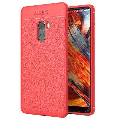 TPU Litchi Skin Phone Case for Xiaomi Mi Mix 2