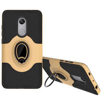 PC+TPU Silicone Ring Bracket Phone Case for Xiaomi Redmi Note 4 / 4XCases &amp; Leather<br>PC+TPU Silicone Ring Bracket Phone Case for Xiaomi Redmi Note 4 / 4X<br><br>Color: Black,Red,Gold,Gray<br>Compatible Model: Xiaomi Redmi Note 4 / 4X<br>Features: Cases with Stand, Dirt-resistant<br>Mainly Compatible with: Xiaomi<br>Material: TPU, PC<br>Package Contents: 1 x Phone Case<br>Package size (L x W x H): 21.00 x 12.00 x 1.51 cm / 8.27 x 4.72 x 0.59 inches<br>Package weight: 0.0480 kg<br>Product Size(L x W x H): 15.50 x 8.60 x 1.50 cm / 6.1 x 3.39 x 0.59 inches<br>Product weight: 0.0470 kg<br>Style: Cool, Name Brand Style, Funny