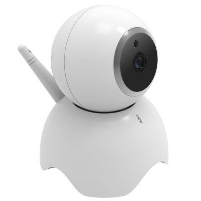 IPC-CD1 Cloud Storage 960P HD IP Camera WiFi Baby Monitor IR Cut Night Vision Two Way Audio Wireless Smart Home SecurityIP Cameras<br>IPC-CD1 Cloud Storage 960P HD IP Camera WiFi Baby Monitor IR Cut Night Vision Two Way Audio Wireless Smart Home Security<br><br>APP Language: English,French,Portuguese,German,Italian,Simplified Chinese,Vietnamese,Chinese,Chinese Traditional<br>Audio Input: Built-in mic.<br>Audio Output: Built-in speaker<br>Compatible Operation Systems: Windows 7,Windows 8,Windows 10,Microsoft Windows 98/ ME /2000/ XP,Android,IOS<br>Connection: Wireless<br>Exterior Material: Plastic<br>Features: HD<br>FOV: 56.14 degree<br>Image Adjustment: Brightness,Contrast,Color saturation<br>Interface: TF Card Slot<br>IP camera performance: Backlight Compensation, White Balance, Motion Detection, Remote Control, Interphone, Screenshot, Support video control, Night Vision<br>Language: English,French,Portuguese,German,Italian,Chinese,Tagalog,Simplified/TraditionalChinese<br>Local-storage: Micro SD card up to 64GB<br>Maximum Monitoring Range: 10<br>Mobile Access: iPad,Android,iPhone OS<br>Model: IPC-CD1<br>Motion Alarm: Support<br>Motion Detection Distance: 5<br>Operate Temperature (?): -10 - 50<br>Package Contents: 1 x Camera, 1 x English User Manual, 1 x Power Supply<br>Package size (L x W x H): 16.80 x 15.90 x 11.40 cm / 6.61 x 6.26 x 4.49 inches<br>Package weight: 0.5100 kg<br>Pixels: 1000000 pixel<br>Product size (L x W x H): 11.00 x 10.00 x 13.00 cm / 4.33 x 3.94 x 5.12 inches<br>Product weight: 0.2300 kg<br>Protocol: HTTP,SMTP,DHCP,UPNP,TCP,IP<br>Resolution: 1280 x 960<br>Safety: WEP, WPA, WPA2 encryption<br>Sensor: CMOS<br>Shape: Mini Camera<br>Technical Feature: WiFi, Pan Tilt Zoom<br>Video Compression Format: H.264<br>Video Resolution: 960P<br>Waterproof: No<br>White Balance: Auto<br>WiFi Distance: 10<br>Wireless: WiFi 802.11 b/g/n<br>Working Voltage: DC5V