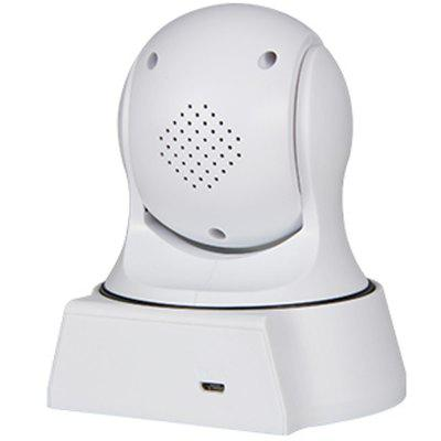 IPC19WR 960P H.264 HD WiFi IP Camera Wireless Netcam Baby Monitor Home Office Security SystemIP Cameras<br>IPC19WR 960P H.264 HD WiFi IP Camera Wireless Netcam Baby Monitor Home Office Security System<br><br>Audio Input: Built-in mic.<br>Audio Output: Built-in speaker<br>Compatible Operation Systems: Windows 7,Windows 8,Microsoft Windows 98/ ME /2000/ XP,Android,IOS<br>Features: HD<br>FOV: 60 Degree<br>Interface: TF Card Slot<br>IP camera performance: White Balance, Interphone, Night Vision, Motion Detection, Remote Control, Backlight Compensation<br>Language: English,French,Spanish,Portuguese,Russian,German,Italian,Japanese,Korean,Tagalog,Hindi,Simplified / TraditionalChinese<br>Maximum Monitoring Range: 10<br>Model: IPC19WR<br>Motion Detection Distance: 5<br>Operate Temperature (?): -10 - 50<br>Package Contents: 1 x IP Camera, 1 x English User Manual, 1 x Power Supply<br>Package size (L x W x H): 13.00 x 11.50 x 12.50 cm / 5.12 x 4.53 x 4.92 inches<br>Package weight: 0.4500 kg<br>Pixels: 1MP<br>Product size (L x W x H): 12.80 x 10.50 x 13.10 cm / 5.04 x 4.13 x 5.16 inches<br>Product weight: 0.2000 kg<br>Protocol: SMTP,DHCP,DNS,UPNP,TCP,IP<br>Resolution: 1280 x 960<br>Shape: Mini Camera<br>Technical Feature: WiFi, Pan Tilt Zoom<br>Video Resolution: 960P<br>Waterproof: No<br>WiFi Distance: 10<br>Wireless: WiFi 802.11 b/g/n<br>Working Voltage: 5V