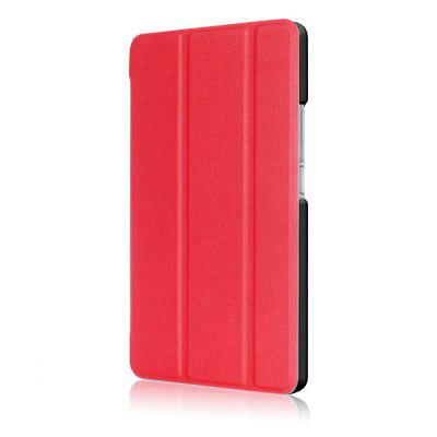 Tablet Protective Case for Lenovo TAB4 8 PlusTablet Accessories<br>Tablet Protective Case for Lenovo TAB4 8 Plus<br><br>Accessory type: Tablet Leather Case<br>Available Color: Black,Red,Blue,Green<br>Compatible models: For Lenovo<br>Features: Bumper Frame, Full Body Cases<br>For: Tablet PC<br>Material: PU + PC<br>Package Contents: 1 x Protective Case<br>Package size (L x W x H): 20.00 x 15.00 x 2.00 cm / 7.87 x 5.91 x 0.79 inches<br>Package weight: 0.0500 kg<br>Style: Solid Color