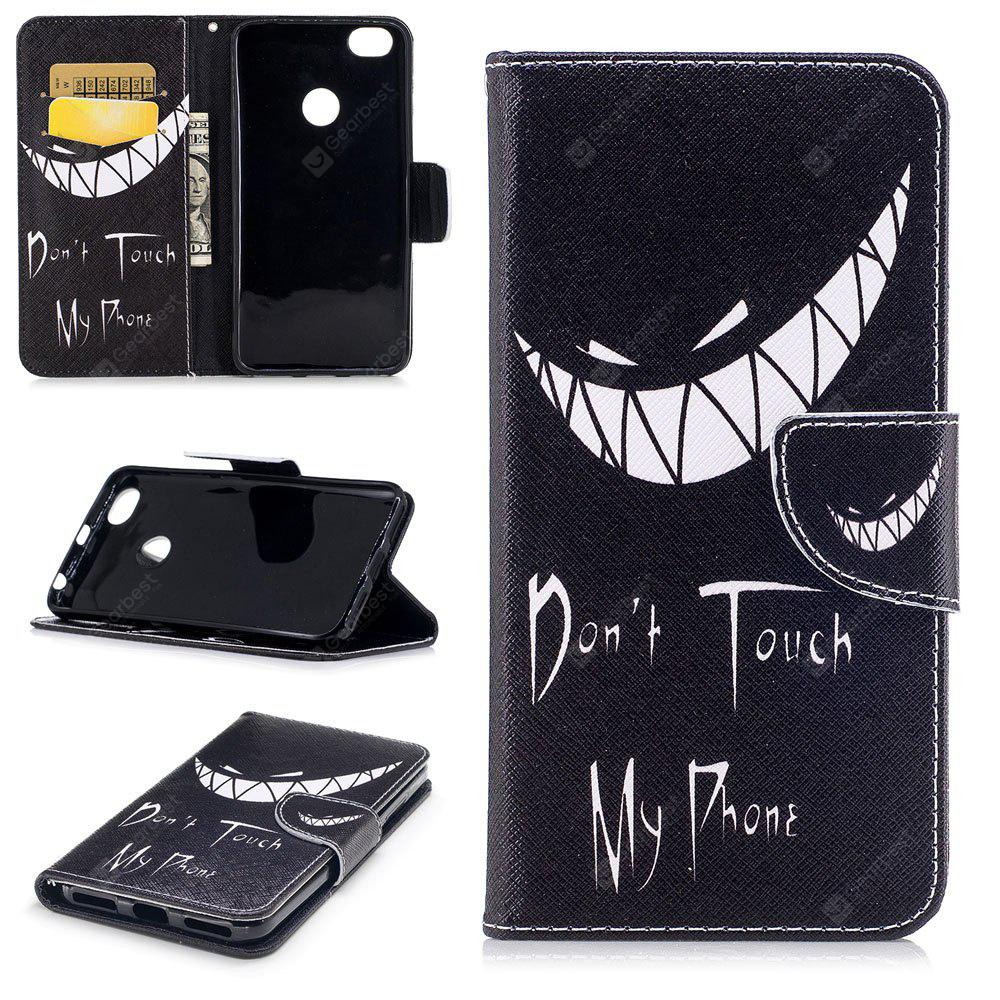Bad Smile Pattern per Xiaomi Redmi Note 5A Pro Luxury Style Custodia in pelle per cellulare