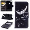 Bad Smile Pattern per Xiaomi Redmi Note 5A Pro Luxury Style Custodia in pelle per cellulare - NERO