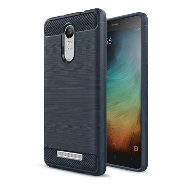 Case for Xiaomi Redmi Note 3 Luxury Carbon Fiber Anti Drop TPU Soft Cover