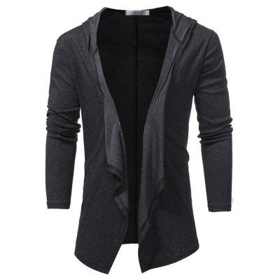 New Fashion Collar V Solid All-Match Slim Men Cardigan CoatMens Jackets &amp; Coats<br>New Fashion Collar V Solid All-Match Slim Men Cardigan Coat<br><br>Closure Type: Single Breasted<br>Clothes Type: Jackets<br>Collar: Turn-down Collar<br>Hooded: No<br>Materials: Polyester, Cotton<br>Package Content: 1 X Loose coat<br>Package size (L x W x H): 1.00 x 1.00 x 1.00 cm / 0.39 x 0.39 x 0.39 inches<br>Package weight: 0.3500 kg<br>Pattern Type: Solid<br>Shirt Length: Regular<br>Size1: M,L,XL,2XL<br>Style: Casual<br>Thickness: Thin