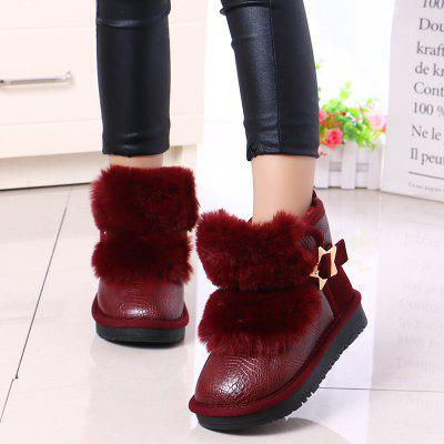 Winter Warm Child Plush Thicker Snow BootsGirls shose<br>Winter Warm Child Plush Thicker Snow Boots<br><br>Available Size: 26-37<br>Boot Type: Snow Boots<br>Closure Type: Hook / Loop<br>Embellishment: Rivet<br>Gender: Baby Girls<br>Item Type: Boots<br>Lining Material: Plush<br>Outsole Material: Rubber<br>Package Contents: 1 x Pair of Shoes<br>Package weight: 0.7000 kg<br>Seasons: Winter,Spring/Fall<br>Upper Material: PU