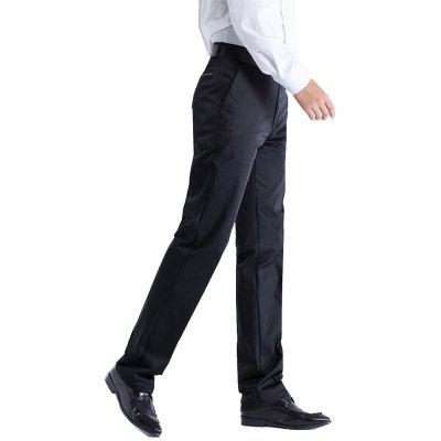 Anti-wrinkle No-iron Business Casual  PantsMens Pants<br>Anti-wrinkle No-iron Business Casual  Pants<br><br>Closure Type: Zipper Fly<br>Color: Black<br>Elasticity: Nonelastic<br>Fabric Type: Broadcloth<br>Fit Type: Straight<br>Front Style: Flat<br>Length: Normal<br>Material: Acetate<br>Package Contents: 1 xPants<br>Package size (L x W x H): 1.00 x 1.00 x 1.00 cm / 0.39 x 0.39 x 0.39 inches<br>Package weight: 0.5800 kg<br>Pant Style: Straight<br>Pattern Type: Solid<br>Style: Casual<br>Thickness: Standard<br>Waist Type: Mid<br>With Belt: No