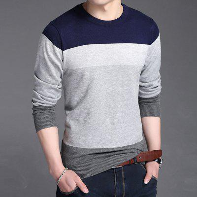 Fashion Striped Knitwear Men Autumn Pullover SweatersMens Sweaters &amp; Cardigans<br>Fashion Striped Knitwear Men Autumn Pullover Sweaters<br><br>Closure Type: None<br>Collar: Round Collar<br>Hooded: No<br>Material: Cotton<br>Package Contents: 1xPullover<br>Package size (L x W x H): 1.00 x 1.00 x 1.00 cm / 0.39 x 0.39 x 0.39 inches<br>Package weight: 0.4100 kg<br>Pattern Type: Striped<br>Product weight: 0.4000 kg<br>Size1: L,XL,2XL,3XL<br>Sleeve Length: Full<br>Sleeve Style: Regular<br>Style: Casual<br>Technics: Flat Knitted<br>Thickness: Standard<br>Type: Pullovers<br>Wool: Standard Wool