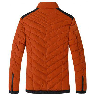 The Winter MenS Collar Cotton Padded Jacket Youth Leisure Warm Clothes 858-16070Mens Jackets &amp; Coats<br>The Winter MenS Collar Cotton Padded Jacket Youth Leisure Warm Clothes 858-16070<br><br>Closure Type: Zipper<br>Clothes Type: Down &amp; Parkas<br>Collar: Stand Collar<br>Colors: Black,Blue,Orange<br>Detachable Part: None<br>Fabric Type: Cotton<br>Hooded: No<br>Lining Material: Cotton,Polyester<br>Materials: Polyester, Cotton<br>Package Content: 1?coat<br>Package size (L x W x H): 1.00 x 1.00 x 1.00 cm / 0.39 x 0.39 x 0.39 inches<br>Package weight: 0.8000 kg<br>Pattern Type: Solid<br>Shirt Length: Regular<br>Size1: L,XL,2XL,3XL<br>Sleeve Style: Regular<br>Style: Casual<br>Technics: Other<br>Thickness: Medium thickness<br>Type: Slim