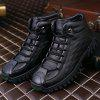 New Men'S High-Top Outdoor Sports Shoes - BLACK