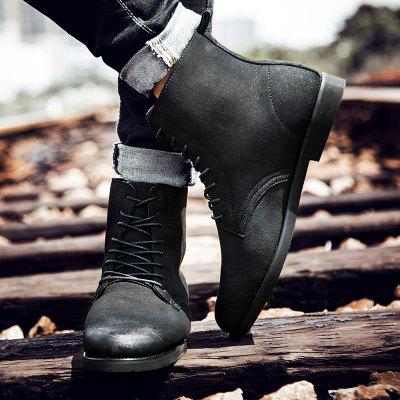 "Young Fashion Male Martin ShoesMens Boots<br>Young Fashion Male Martin Shoes<br><br>Boot Height: Ankle<br>Boot Type: Riding/Equestrian<br>Closure Type: Lace-Up<br>Embellishment: None<br>Gender: For Men<br>Heel Hight: Flat(0-0.5"")<br>Heel Type: Low Heel<br>Outsole Material: Rubber<br>Package Contents: 1 x shoes ?pair?<br>Pattern Type: Others<br>Season: Winter<br>Toe Shape: Round Toe<br>Upper Material: PU<br>Weight: 2.3100kg"