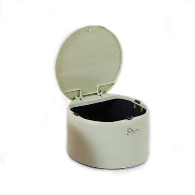 1Pc Press Type Projectile Cover Circular Trash